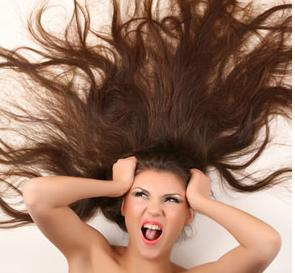 saçın elektriklenmesi